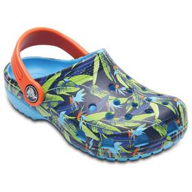 Crocs Classic Tropical Sandali Bambino colorato